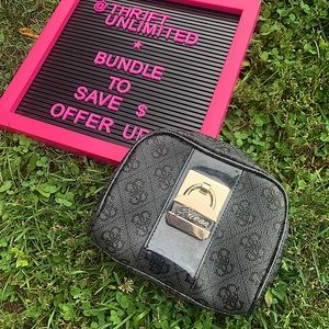 Mini GUESS makeup bag NWOT